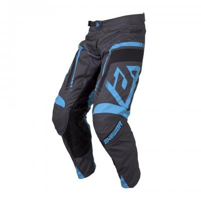 Pantalon Motocross ANSWER Elite Force Charcoal / Black / Astana