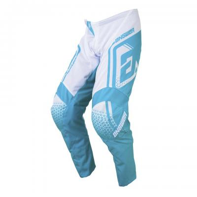 Pantalon Motocross ANSWER Syncron Air Drift White / Astana