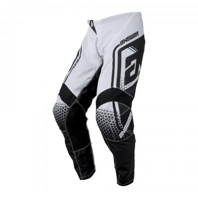 Pantalon Motocross ANSWER Syncron Air Drift Noir / Blanc