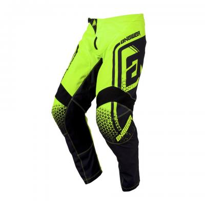 Pantalon Motocross ANSWER Syncron Drift Hyper Acid / Black
