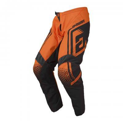 Pantalon Motocross ANSWER Syncron Drift Charcoal / Orange