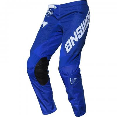 Pantalon Motocross ANSWER Arkon Bleu / Blanc