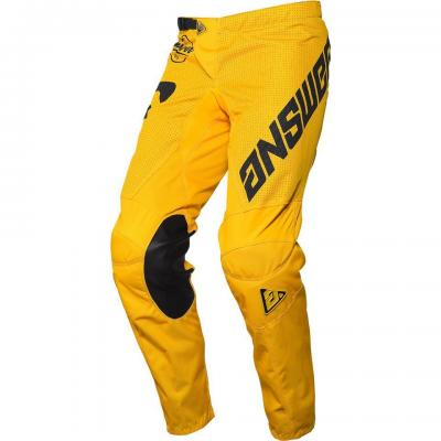 Pantalon Motocross ANSWER Arkon Jaune / Noir