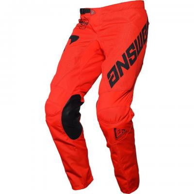 Pantalon Motocross ANSWER Arkon Rouge / Noir