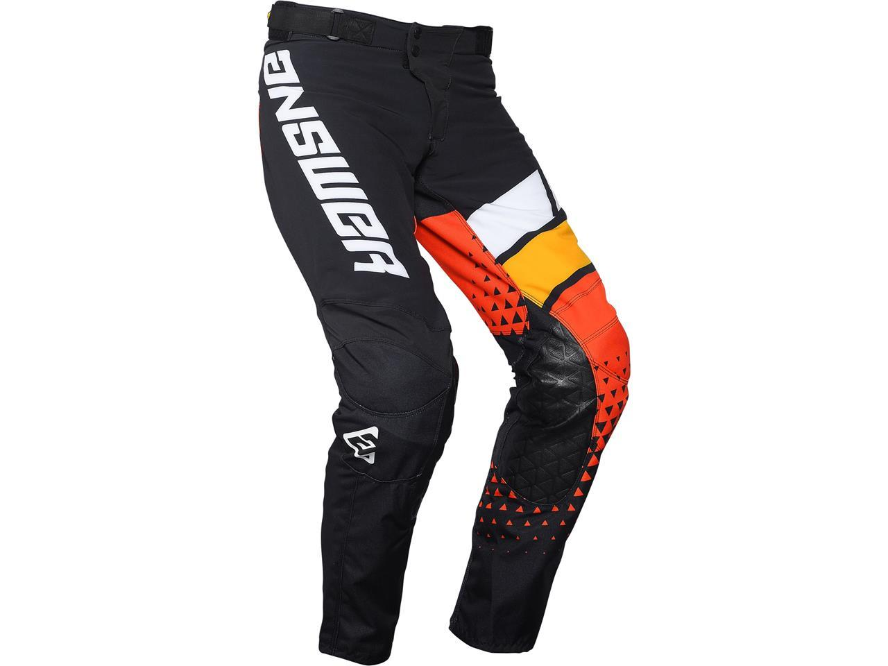 Pantalon elite orange 2
