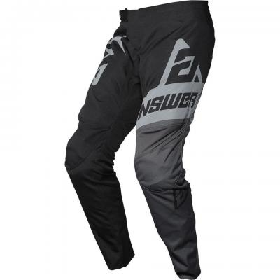 Pantalon motocross enfant ANSWER Syncron Noir / Gris