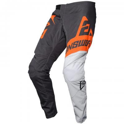 Pantalon Motocross enfant ANSWER Syncron Gris / Orange