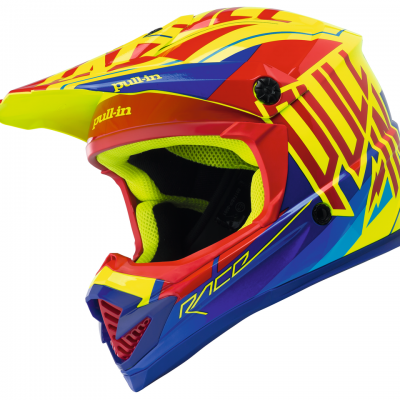 Casque  Motocross   PULL-IN Red