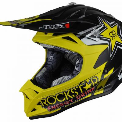 Casque Motocross enfant JUST1 J32 Rockstar 2.0