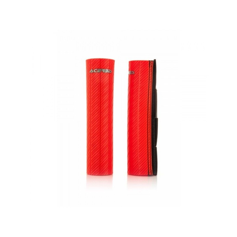 Rubber up forks covers usd 43 48 mm red
