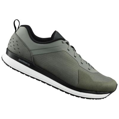 Chaussures Shimano Vélo Urbain CT5 Olive