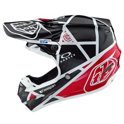 Se4 carbon metric black red helmets 4