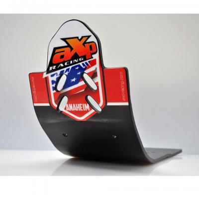 Protection: Semelle Mx Axp Anaheim Phd Noir/Déco Rouge Honda CRF 450 2017 2018