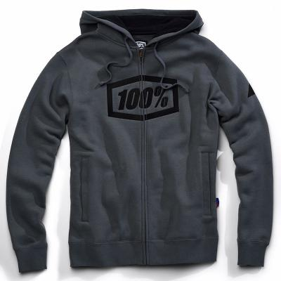 Syndicate zip sweatshirt steel grey