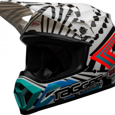 Casque Motocross BELL MX-9 mips tagger check me out noir / blanc