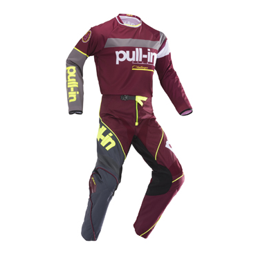 Tenue cross pullin challenger burgundy