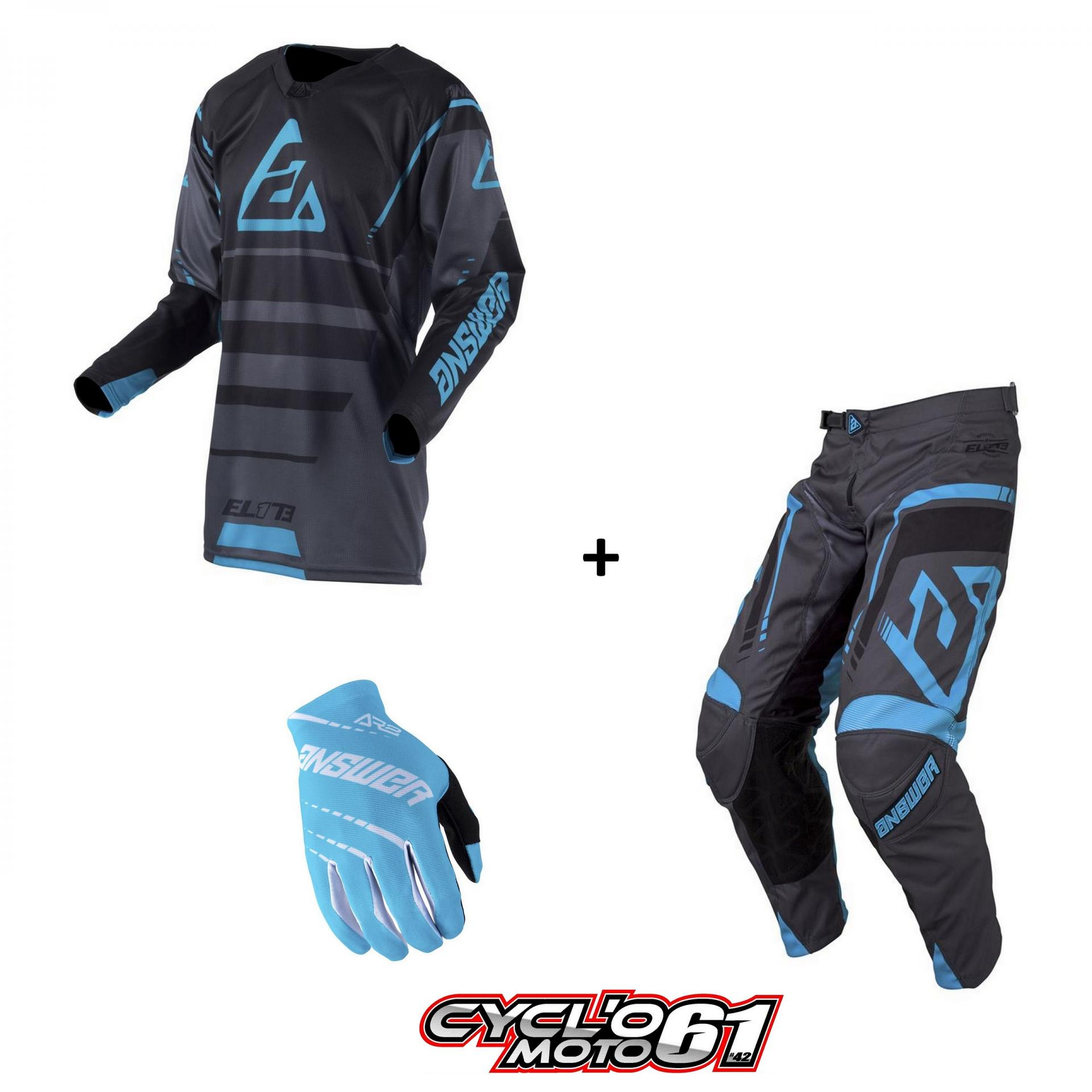 Tenue gants answer elite astana
