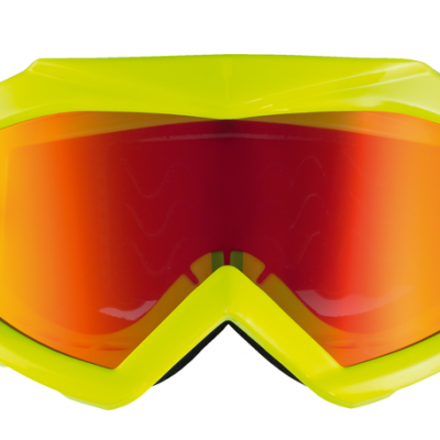 Lunettes Kenny Track + Jaune Fluo / Rouge