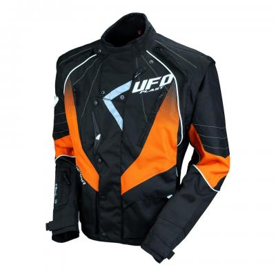 Veste UFO Enduro Noir / Orange